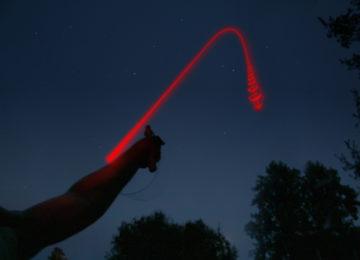 Запуск сигнальной ракеты