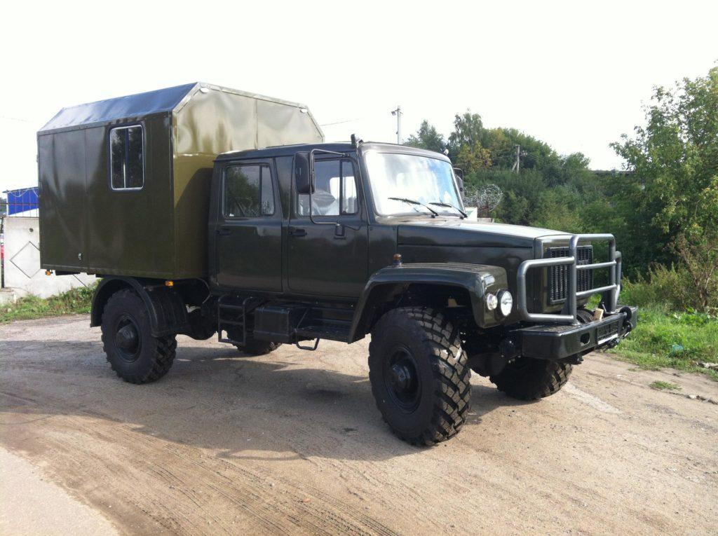ГАЗ-33081 с пятиместной кабиной