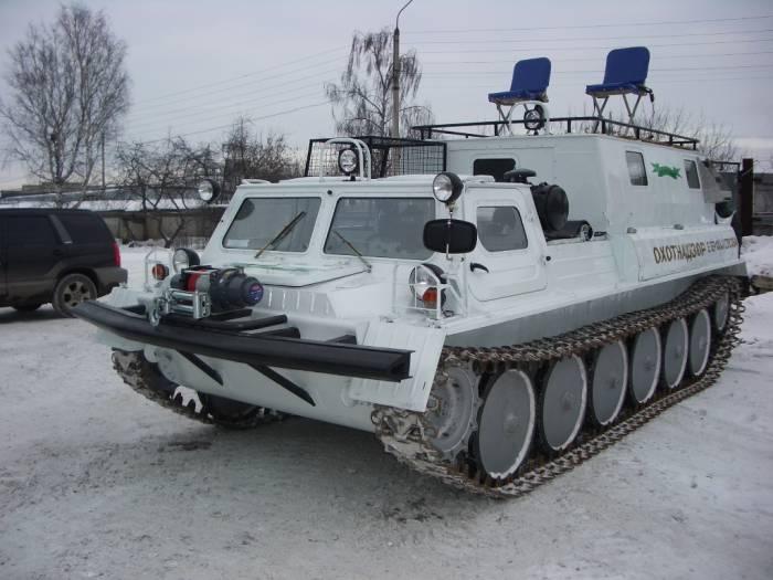 ГАЗ-71 на снегу