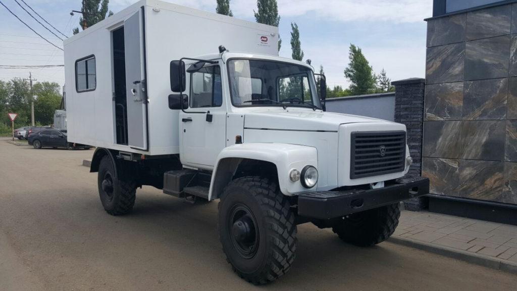 Вахтовый автобус ГАЗ-33081