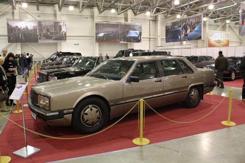 ЗИЛ-4102 на выставке раритетных советских авто