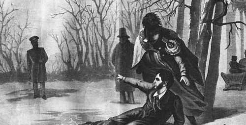 Смерть Пушкина на дуэли