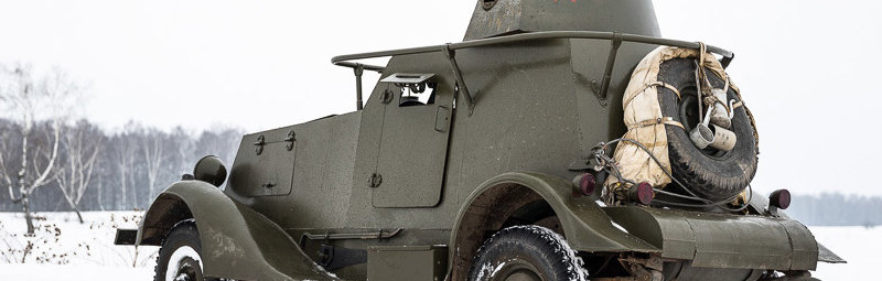 Броневой автомобиль БА-20