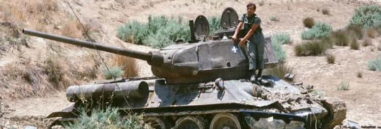 Т-34-85 в Израиле