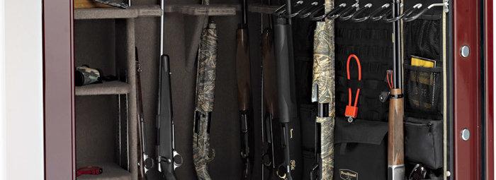 Хранение оружия в сейфе