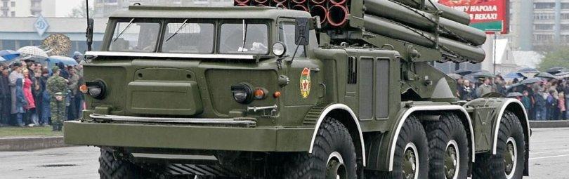 Ракетный комплекс на базе ЗИЛ-135