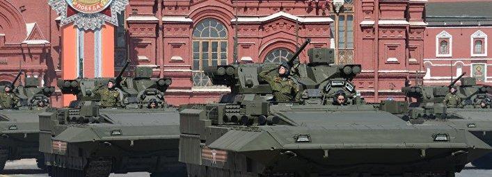 Т-15 на параде