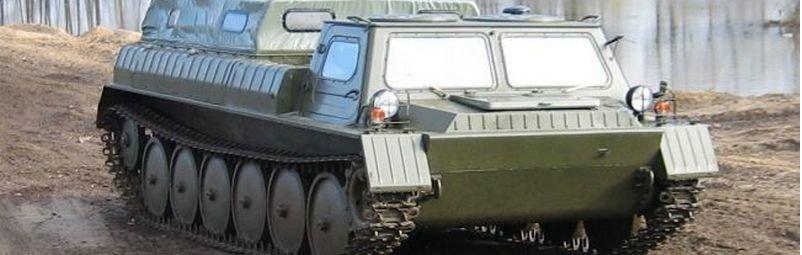 ГАЗ-71 на бездорожье